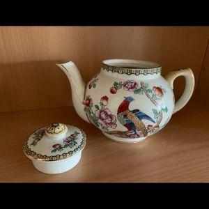 Vintage Peacock Designs Coffee/Tea Cream sets